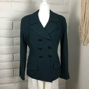 🌹Vintage Christian Dior🌹Hunter Green Jacket